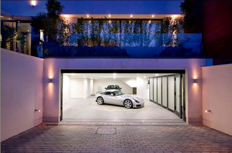 How To Build Underground Garage Round Designs - Houses with underground garages